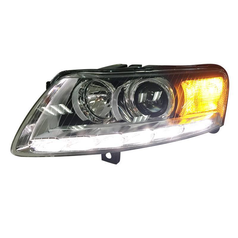 Neblineros Para снаружи дневного сборки Cob Drl светодио дный Авто Assessoires освещение автомобиля фары Задние огни для Audi A6l