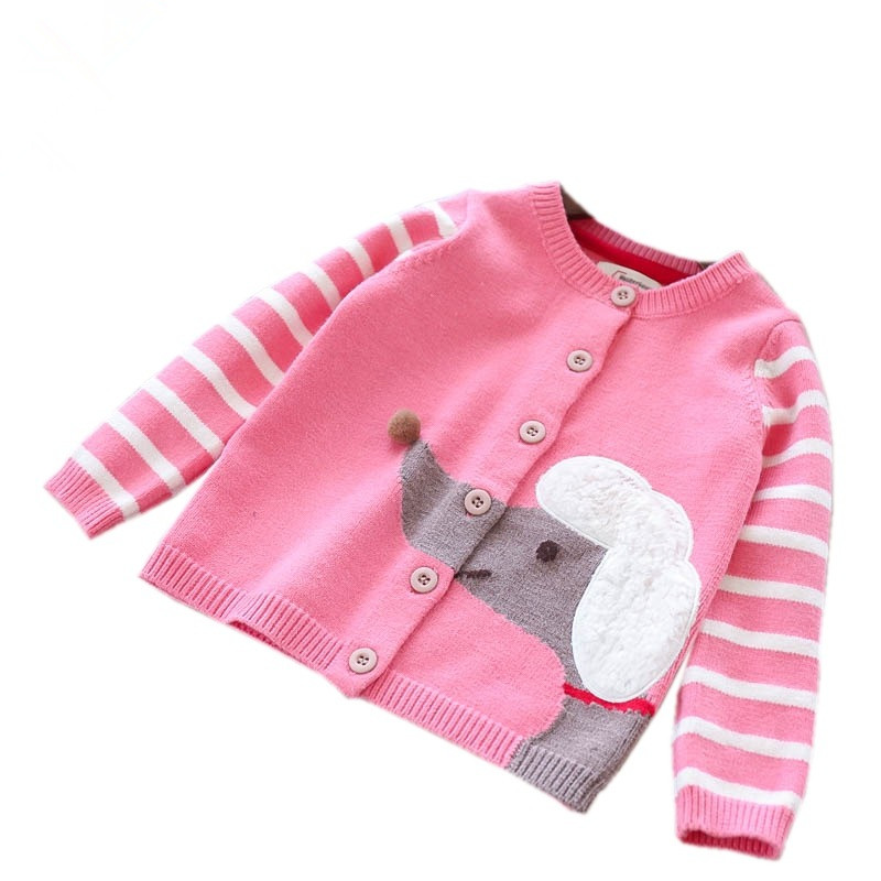 Autumn Fashion Kids Cardigan Baby Sweater For Girls Cardigan For Girls Sweater Girl Coat Kids Clothes Children's Clothing