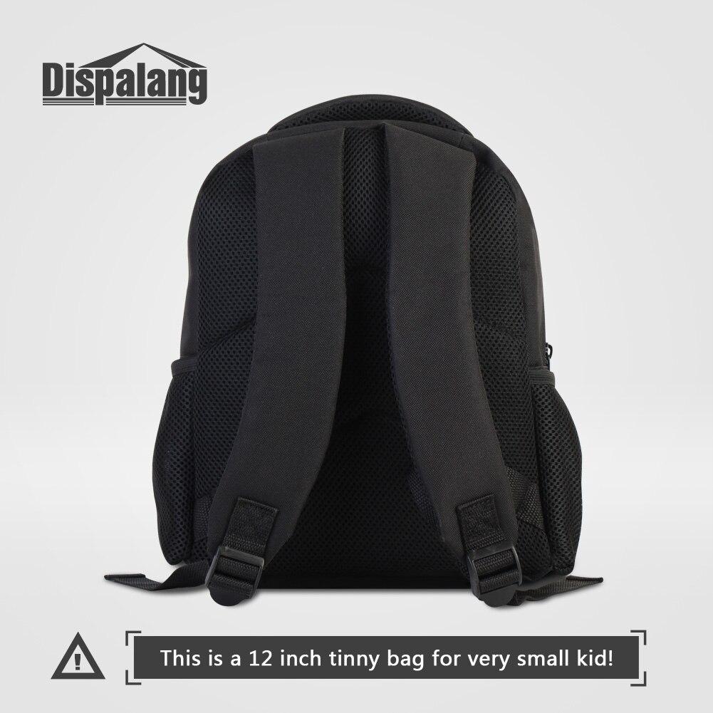 Dispalang Cool Basketballs Print School Bags For Boys Kids Daily Shoulder Bag 12 Inch Small Rucksack Children Baby Sporty Rugzak