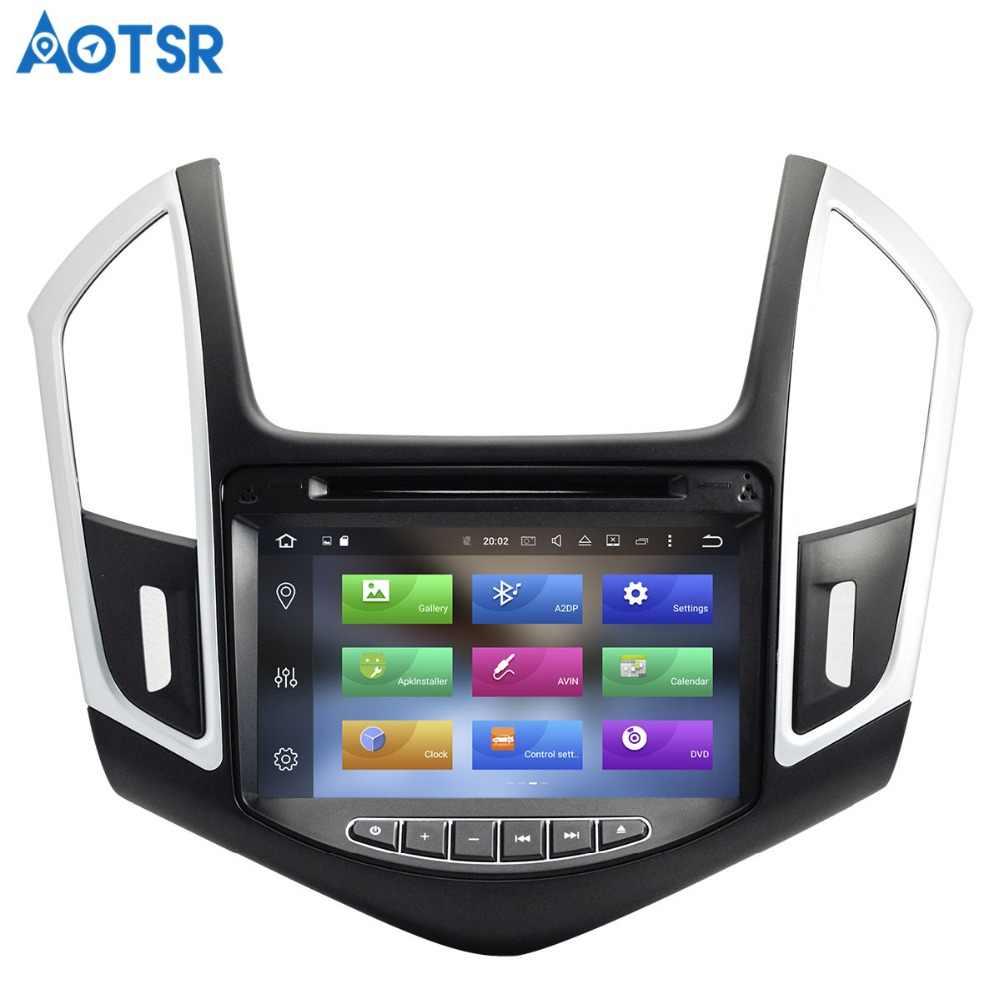 Aotsr الروبوت 8.1 GPS والملاحة سيارة مشغل ديفيدي لشفروليه كروز 2012 2014 الوسائط المتعددة 2 الدين راديو مسجل 4 GB + 32 GB 2 GB + 16 GB
