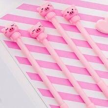 Комплект из 2 предметов kawaii в виде розовой свинки ручка мультфильм