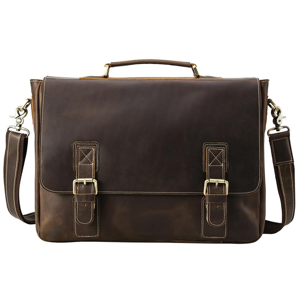 New Men Business Handbag Briefcase Shoulder Messenger Laptop Satchel Bag
