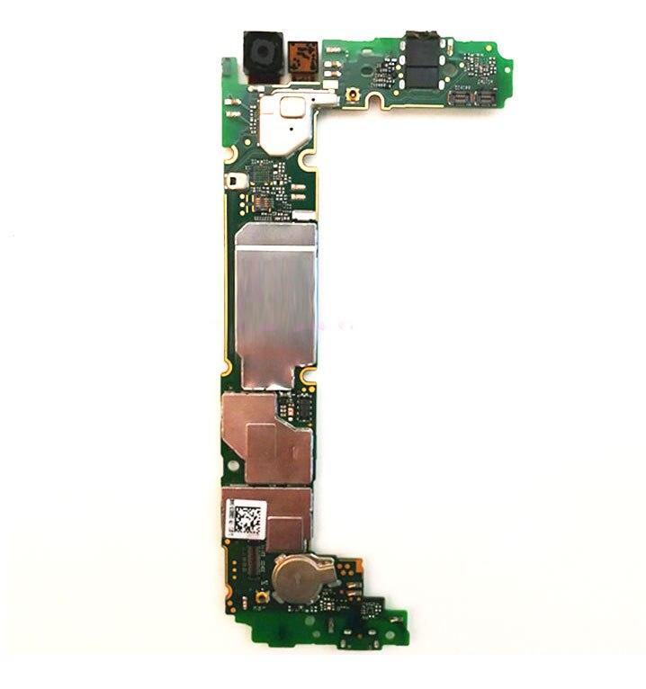 Ymitn Mobile Électronique panneau carte mère Carte Mère débloqué avec puces Circuits flex Câble Pour Huawei p8 p8 lite ALE-L21