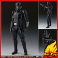 "100% Original BANDAI Tamashii Nations S.H.Figuarts (SHF) Action Figure - Death Trooper from ""Rogue One: A Star Wars Story"""