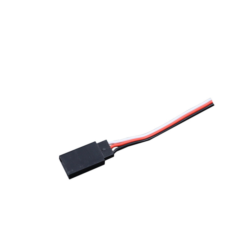 Cheap 7cm Battery Servo Extend Cable for JR FUTABA Servo Plug Wire RC Toys Models Spare Parts Accessories