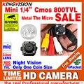 Muito Pequeno! CMOS 800TVL Mini Microfone De Áudio HD Câmera Analógica CCTV Cor Led Infravermelho de Visão Noturna de Vigilância de Vídeo de Segurança LowPrice