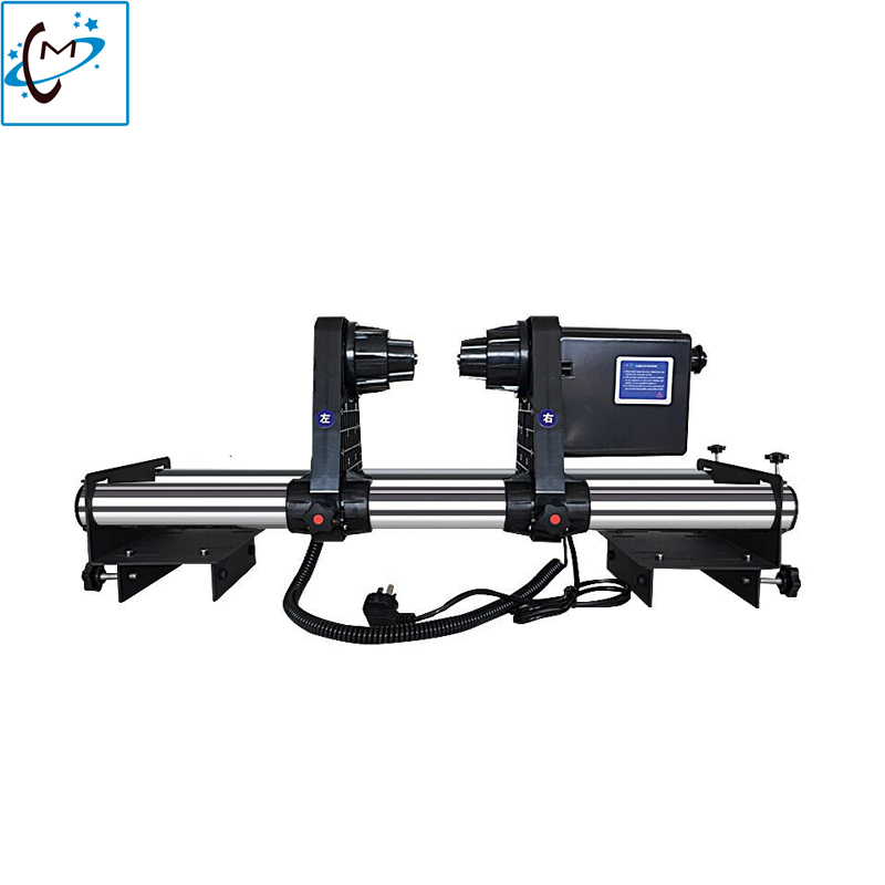 Mutoh Large format printer paper take up system auto take up reel system for Mimaki JV3 JV33 JV5 JV2 JV4 printer paper receiver mimaki printer take up reel system motor for roland mimaki mutoh printer take up reel system