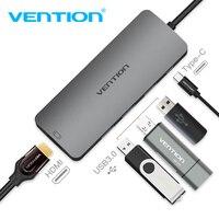 Vention USB C HUB USB C To HDMI Type C PD 3 USB 3 0 Splitter