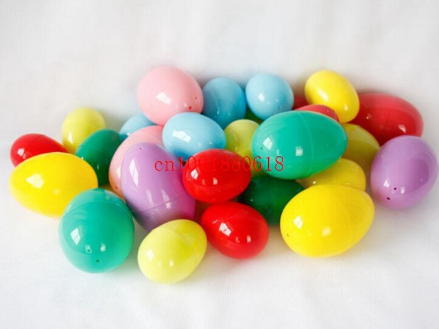 Free Shipping Wholesale Easter Eggs Decorated Egg For Easter Plastic