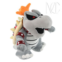 NEW hot 23cm Super Mario Mary boss Bowser Koopa Plush Toys soft Stuffed Doll Christmas gift