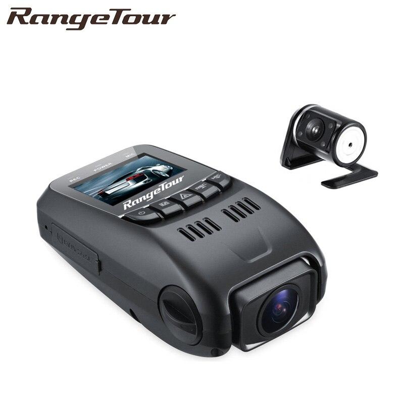 Range Tour Dual Camera Novatek 96655 Chip B40s Plus Car DVR Full HD 1080P Dual Lens 170 Degree Dash Cam Video Recorder B40D