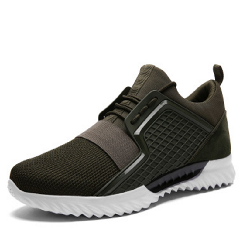 2018 New Outdoor Running Sports Shoes For Men Sneakers Shoes Trainers Jogging Walking Athletic Breathable mesh Non-slip shoes