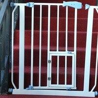 Автоматическое восстановление младенческой и детской безопасности забор собака ворота изоляции барьер собака Портативный Безопасный гва
