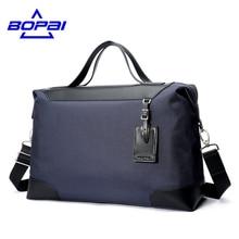 Bopai деловые мужские дорожные сумки корейской моды мужской сумки мешки duffle Оксфорд водонепроницаемые сумки большой дорожные сумки человек