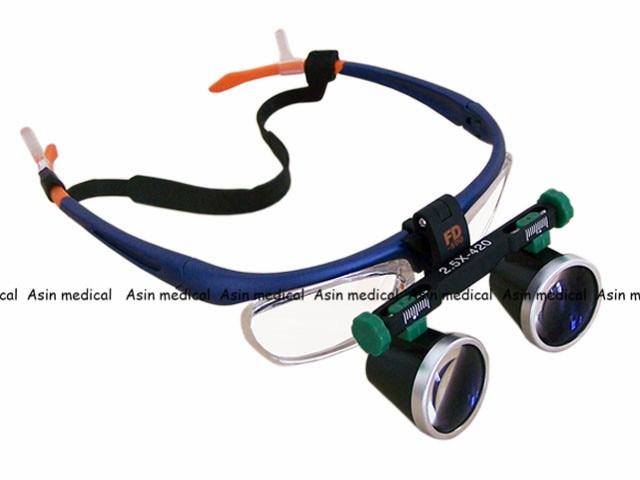 все цены на High Quality 2.5X 3.5X 4X 5X 6X Binocular Headwear Medical magnifying glass Surgical loupes Dental Loupes medical loupes онлайн