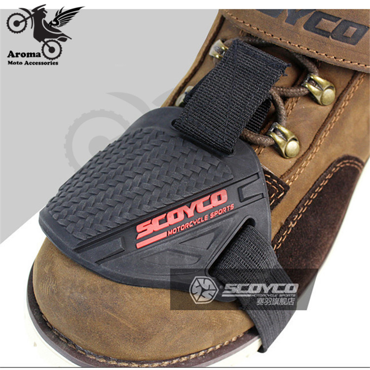 moto shoes protective part motocross men boots shoe protection gear riding racing brake cover accessories motorcycle shift pad