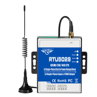 RTU5029 GSM 3G 4G LTE 3 Phase Loss Monitoring Alarm Power Failure Status Value Monitoring Modbus TCP