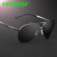 VEITHDIA Brand Men Sunglasses Polarized Lens Yurt Pilot Sun Glasses Male Fashion Eyewear Accessories oculos de sol masculin 3320