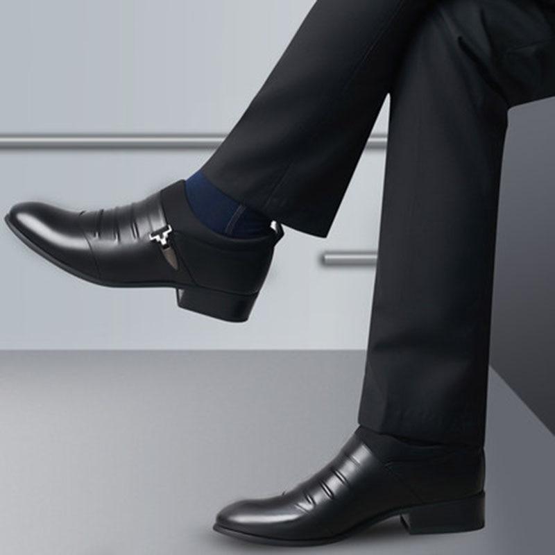 De Noir Oxford brushed Chaussures brushed Business Luxe Hommes Design Pour 592 Formelles Homme Hh Mariage Mode marron Cuir blanc brushed Marque Robe En 2018 UqYwx5vn