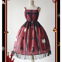 Kitten & Cross ~ Halloween Gothic Lolita JSK Dress by Infanta ~ Pre order