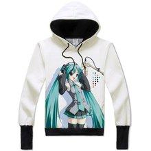 Hatsune Miku Clothing Vocaloid Hoodie Cosplay Sweatshirt Adult Teens