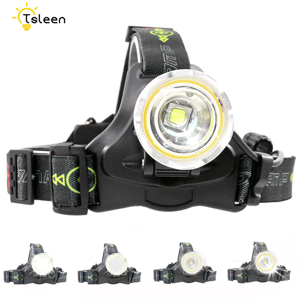 LED Headlight CREE L2 led headlamp zoom 18650/AA Battery Head lights head lamp 3000lm COB zoomable lampe frontale LED BIKE light the new headlamp headlight glare cree xhp50 bicycle light headlight 18650 head lamp lampe bike light