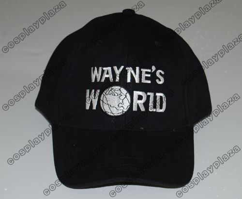 Wayne's World Baseball Sport Hat costume Waynes World cap new