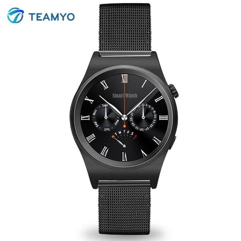 Teamyo Bluetooth X10 Smart watch Blood Pressure Smart band Bracelet Support Camera Waterproof GPS Outdoor Sports Leather Strap smart baby watch q60s детские часы с gps голубые