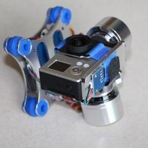 Image 5 - 2 محور قابل للتعديل فرش تبديد الحرارة التصوير الجوي متوافق للغاية Gimbal تحكم المحرك سائق ل Gopro3