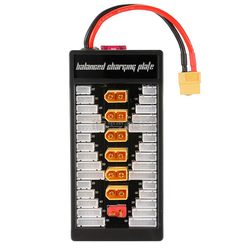 Multi 2S-6S T/XT60 Plug Lipo Parallel Charging Board Balanced For RC Battery Charger B6AC A6 720i Lithium Batteries Charger Part