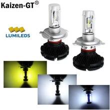 2 unids Alta Potencia Luxeon LED Bombilla H4 H7 H8 H9 H10 H11 H16 H10 9005 9006 9004 9007 9008 Faros y Luces Antiniebla LED Para Lámparas de Cabeza actualización
