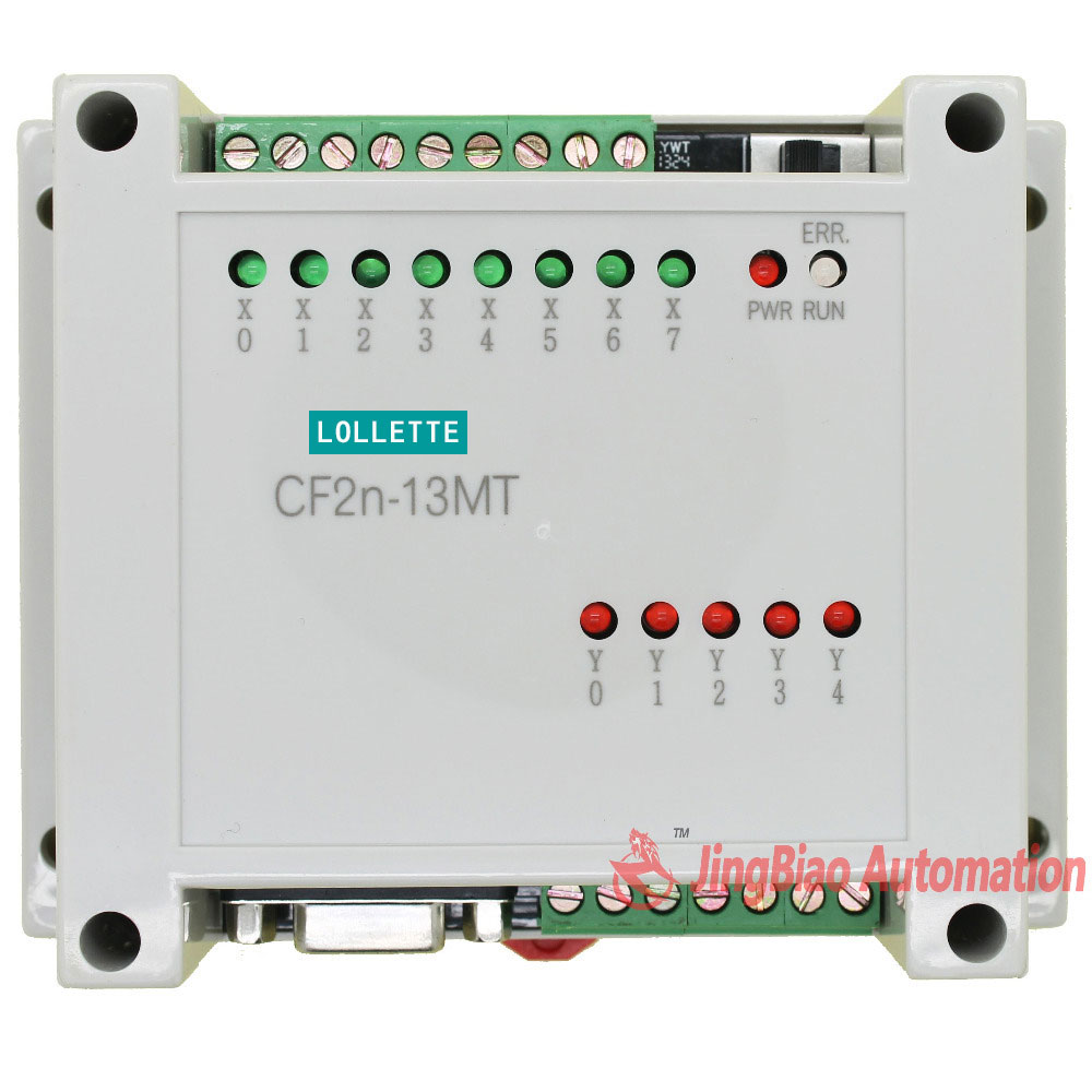 CF2N FX2N 13MT programmable logic controller 8 input 5 Transistors output plc controller automation controls plc system plc controller 20mr 12 input 8 output 4ad 2da compatible for fx2n plc 422