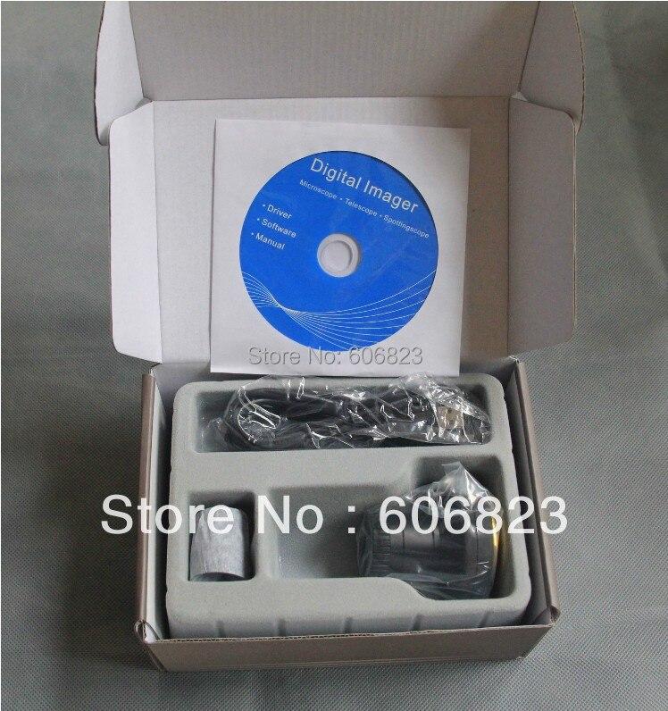3.0MP USB CMOS Цифровая окуляр для телескопа просмотр и запись на ПК Цифровая камера окуляр Новый, Бесплатная доставка