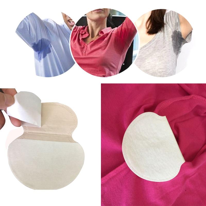100x Disposable Underarm Sweat Pads Guard Summer Armpit Sweat Sheet Antiperspirant Patch Deodorant Pads Dress Clothing Shield