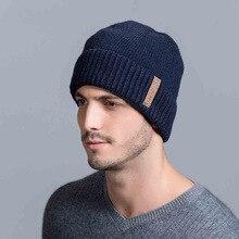 2016 осень/зима мода утолщение шерсть шляпа трикотажные водолазки крышка света отдых на природе теплая шапка мужской