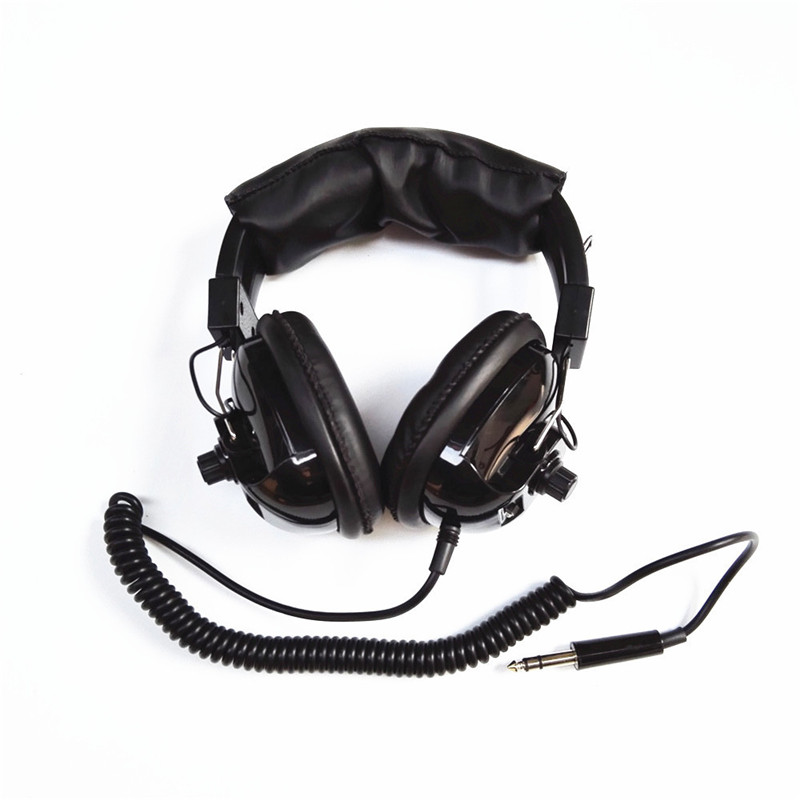 New Arrival Quality Headphone with 1/4 inch Plug for Profesional Underground Metal Detector Deep Search Gold Detector Headphone aks long range underground gold detector deep search locator aks