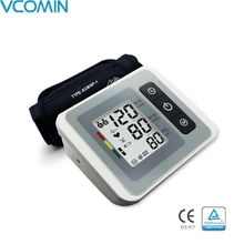 Vcomin Digital Upper Arm Blood Pressure Pulse Monitors tonometer Portable health bp Blood Pressure Monitor sphygmomanometer beurer blood pressure monitor bm 58 medical device upper arm brand new in the original box