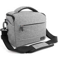 DSLR Kamera Tasche Mode Polyester Schulter Tasche Kamera Fall Für Canon Nikon Sony Objektiv Tasche Tasche Wasserdicht Fotografie Foto Tasche