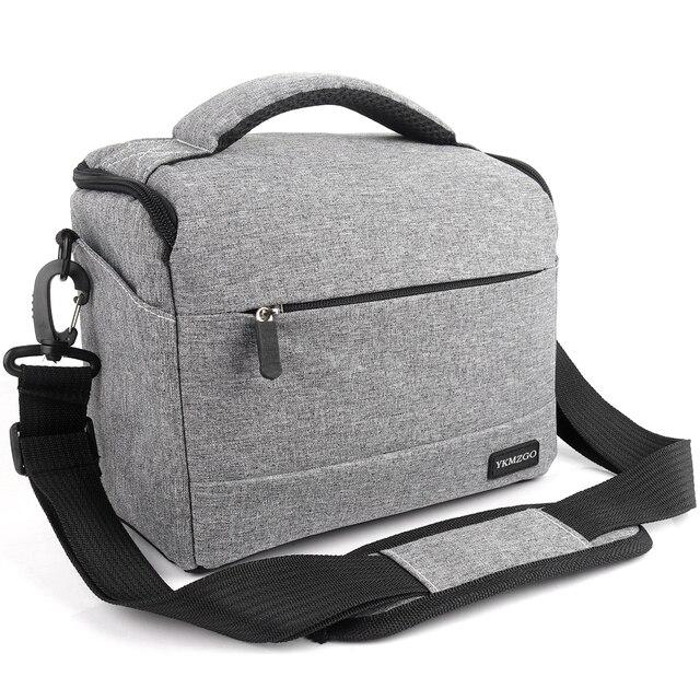 DSLR Túi Máy Ảnh Thời Trang Polyester Túi Vai Túi Máy Ảnh Trường Hợp Đối Với Canon Nikon Sony Lens Pouch Túi Không Thấm Nước Nhiếp Ảnh Ảnh Túi