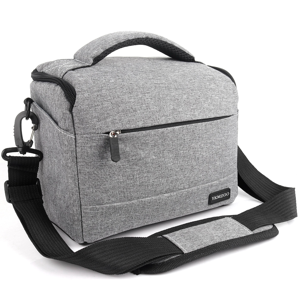 DSLR//SLR Crossbody Shoulder Waterproof Backpack Case for Canon Nikon Sony Tripod and Photo Mirrorless Canvas Products LJTT Camera Sling Bag