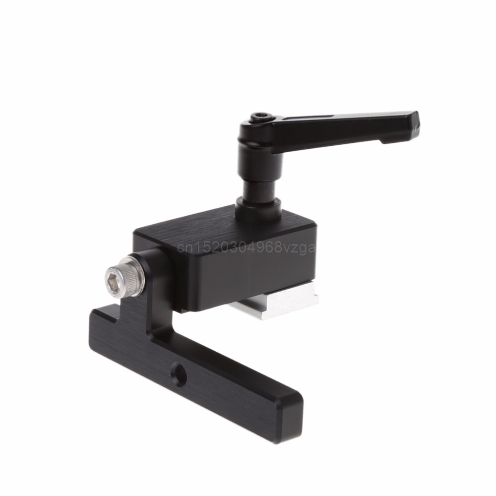 Wood working DIY Tools Miter Track Stop For T-Slot T-Tracks Manual Durable In Use Miter Track Stop for T-Slot J05 dropshipping