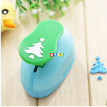 free shipping 2-2.5CM Christmas tree cutter EVA foam punch paper punch for greeting card handmade ,Scrapbook Handmade puncher