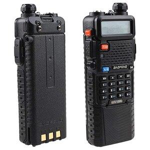 Image 1 - Baofeng UV 5R Dual Band UHF/VHF Radio Transceiver W/Upgrade Version 3800 mah Batterie Mit Hörer Eingebaute VOX funktion