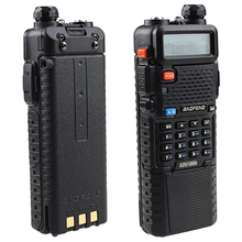 Baofeng UV 5R Dual Band UHF/VHF Radio Transceiver W/Upgrade Version 3800mah Battery With Earpiece   Built in VOX Function