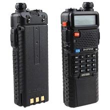 Baofeng UV 5R émetteur récepteur Radio double bande UHF/VHF avec Version mise à niveau 3800 mah batterie avec oreillette fonction VOX intégrée