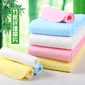 10pcs Natural bamboo fiber Products Reusable baby Diapers Cloth 3 Layer 100% Cotton baby girl and boys Washable Diapers 45*16cm