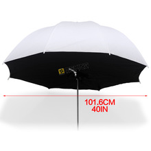"Selens 101cm / 40 ""Translucent Umbrella photo studio Lighting Umbrellas softbox untuk cahaya fotografi"