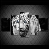 Hd Printed White Tiger Landscape Group Painting Room Decor Print Poster Picture Canvas Free Shipping/Ny-328 size 1 NO Framed