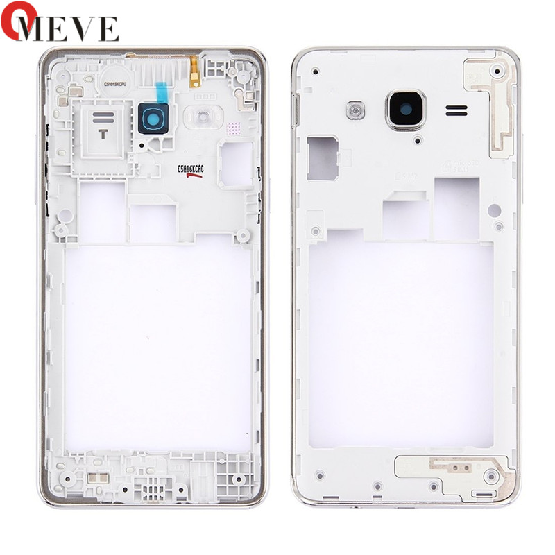 5pcs Middle Frame Bezel Backplate Housing Case Cover Replacement Part For Samsung Galaxy J5 Prime ON5 G5500 / J7 Prime On7 G6100