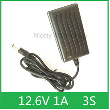 12.6V1A for 12V Lithium ion Polymer Battery Charger IC Scheme Have Convertion Light